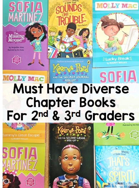 Diverse Chapter Books Must Haves For 2nd 3rd Grade Class Libraries