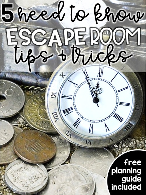 Escape rooms are engaging and fun, but can you incorporate them in your primary classroom? The answer is yes! Your primary students will love completing break out room activities in school, and you'll love how easy they are to implement. They're easier than you think! Here are 5 simple ways to make escape rooms work in your classroom!