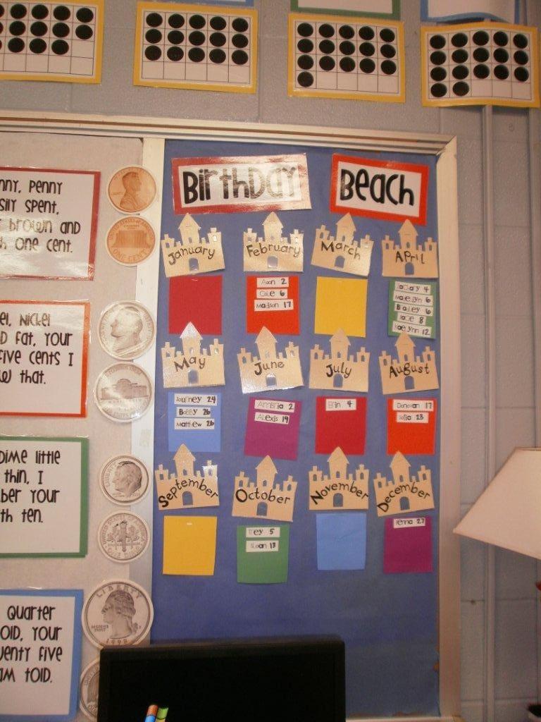 Birthday Board from K-1 Teaching Besties