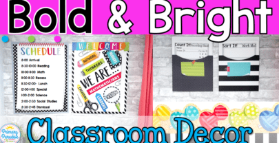 Bold & Bright Classroom Decor with Creative Teaching Press