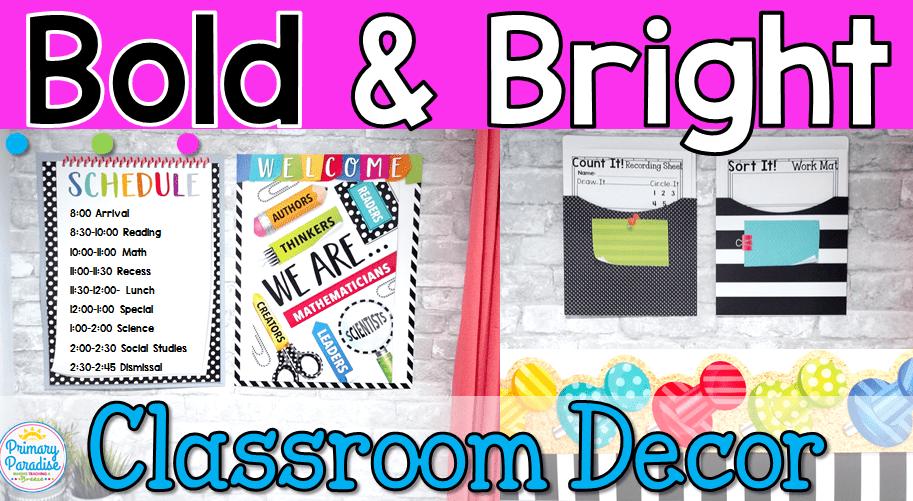 Creative Teaching Press Classroom Decorations : Bold bright classroom decor with creative teaching press
