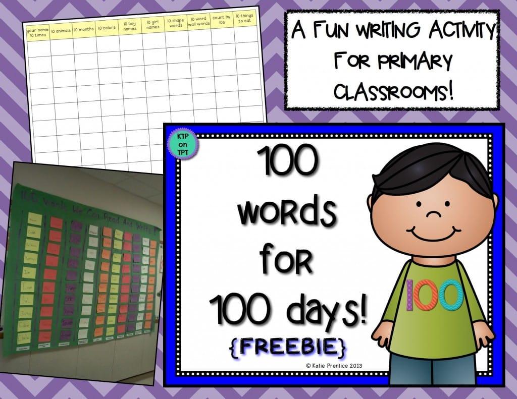 100-words freebie