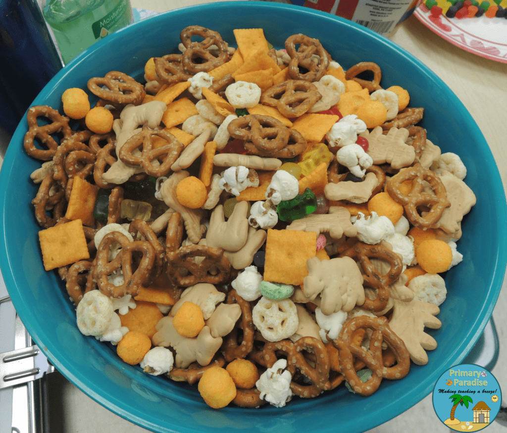 100th Day Snack Mix Complete