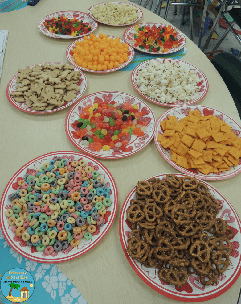 100th Day Snack Mix No Nuts or Chocolate