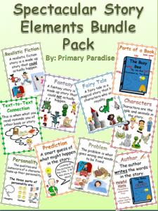 Spectaucular Story Elements Bundle Pack