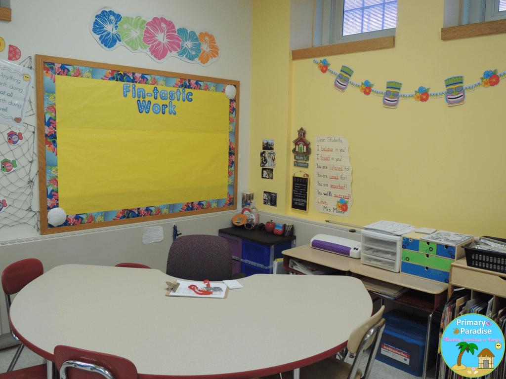 12 Classroom Reveal