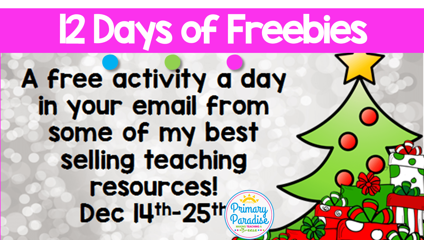 12 Days of Freebies!