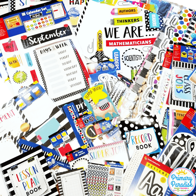 Creative Teaching Press's Bold and Bright Décor collection is perfect for jazzing up any classroom! Back to school, classroom set up, classroom decor