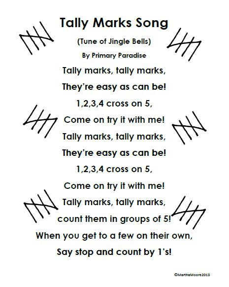 Tally Mark Song -