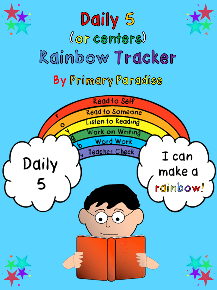Daily 5 Rainbow Tracker Cover