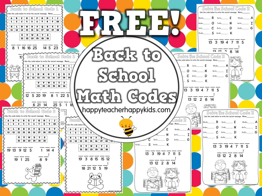 Back-to-School-Math-Codes-Freebie-Collage
