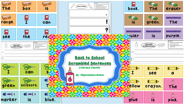 Back-to-school-scrambled-sentences