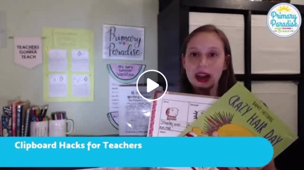 Clipboards in the classroom- tips to engage your students using clipboards
