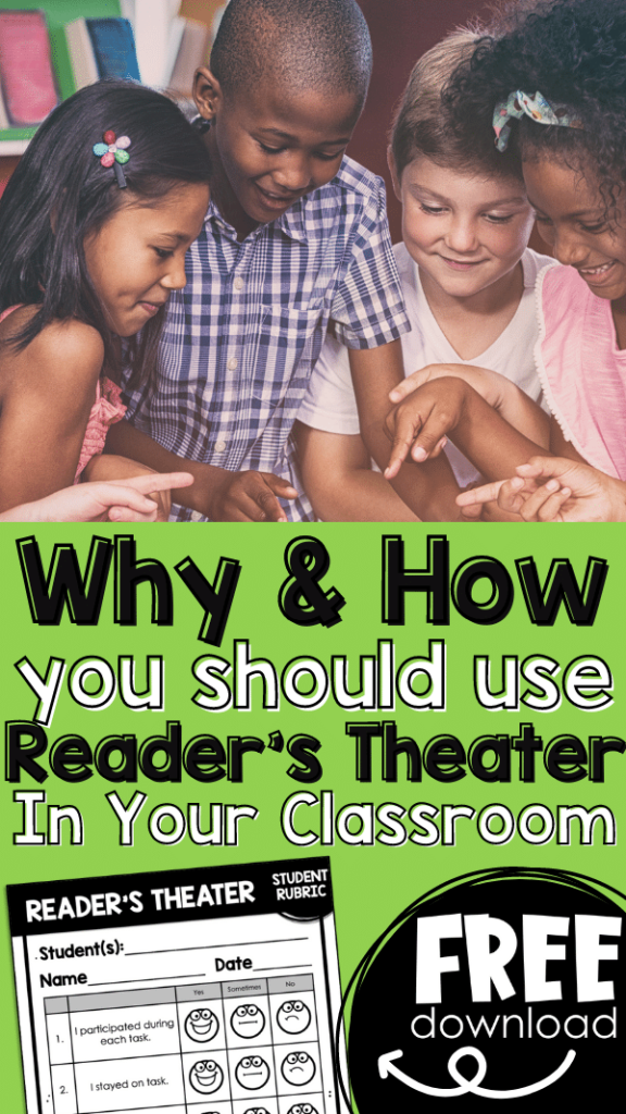 free reader's theater rubric