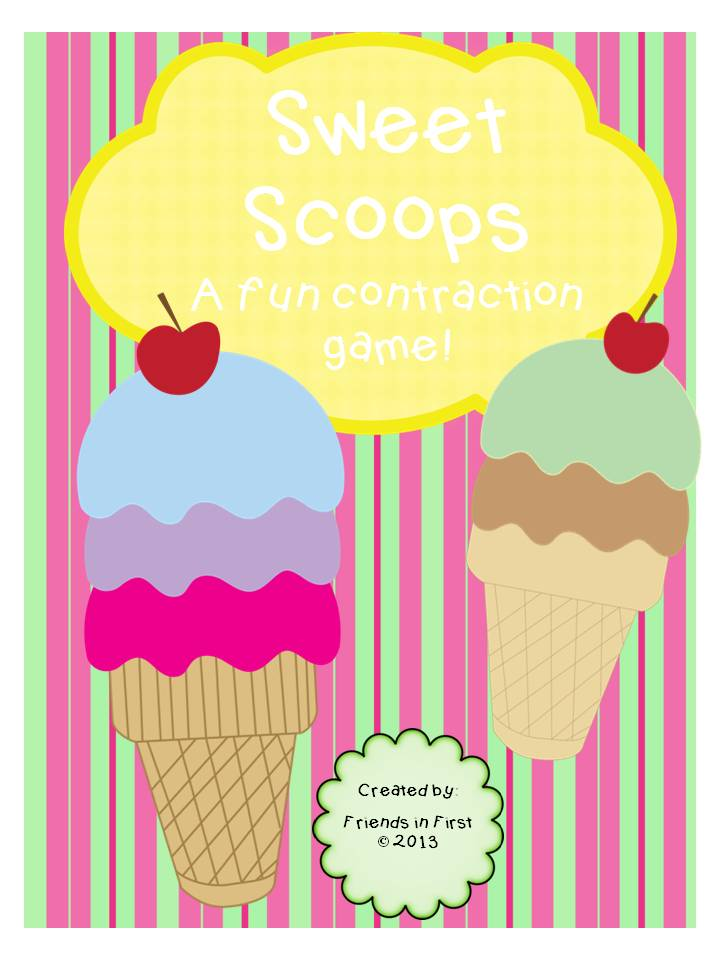 Sweet Scoops Contraction Fun