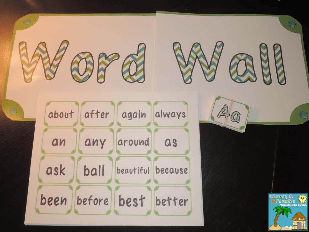 Fabulous Word Wall