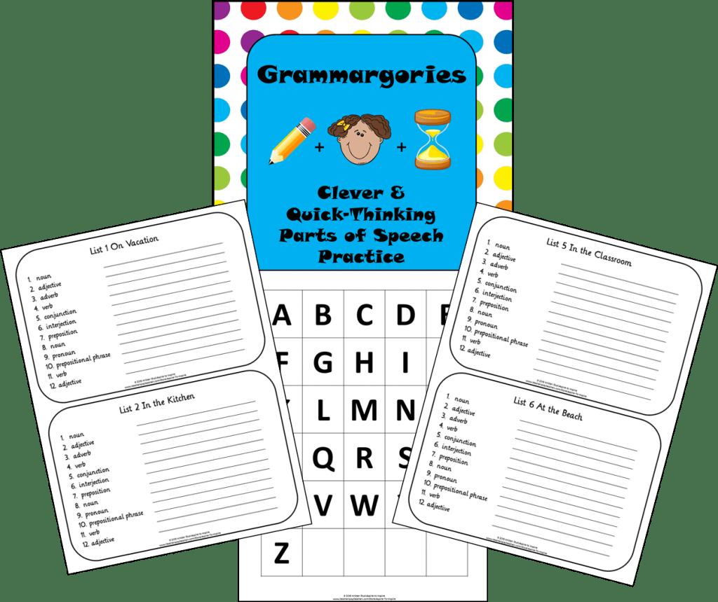 Grammargories FREEBIE