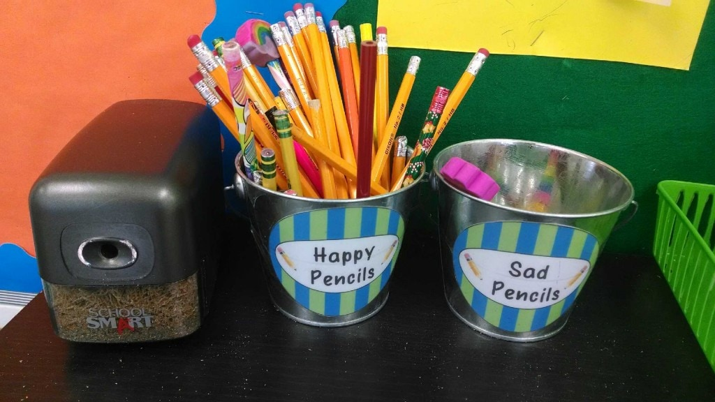 Wordless Wednesday Pencils In Your Classroom