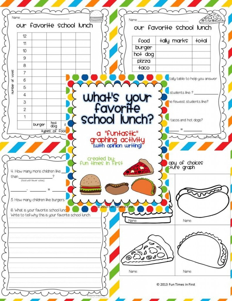 Lunch-Graphing-FREEBIE