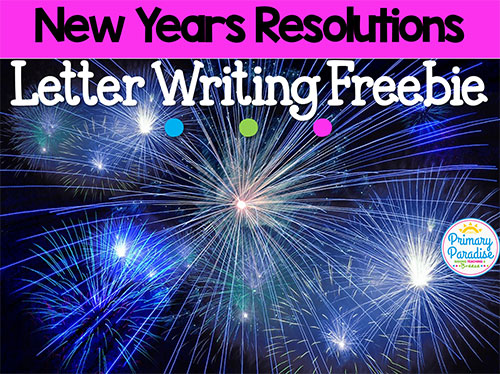resolutions help your students write meaningful unique new years goals with this free letter