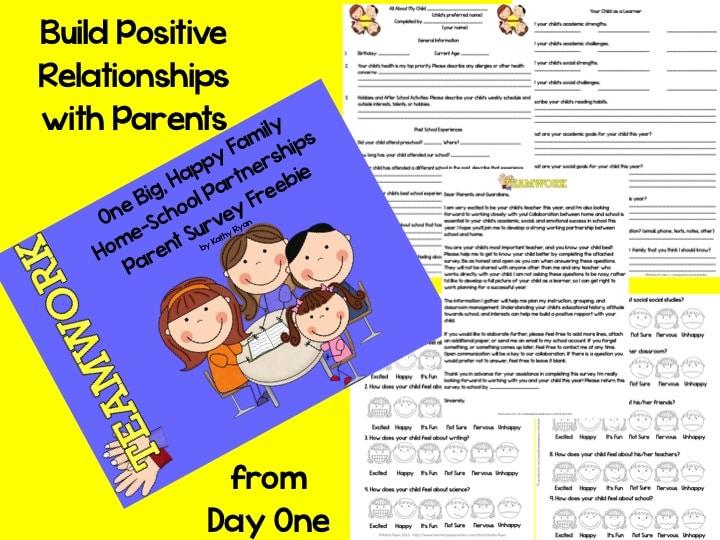 Parent-survey #freebie