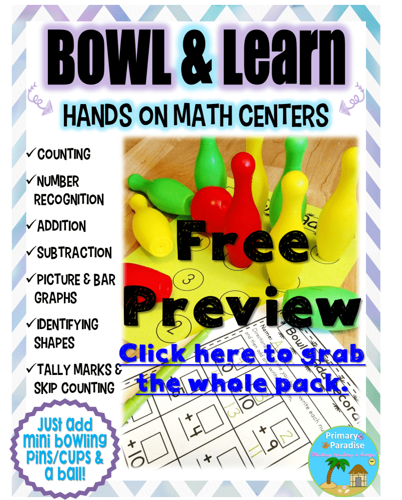 Bowl & Learn Preview Freebie