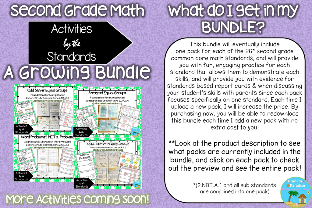 2nd Grade Common Core Math Made Easy! -