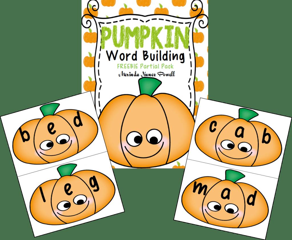 Pumpkin Word Building