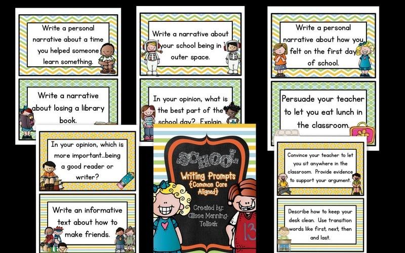School-Writing-Prompts
