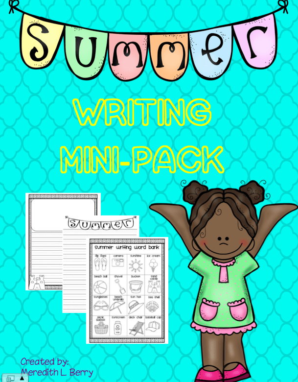 Summer Writing Mini Pack
