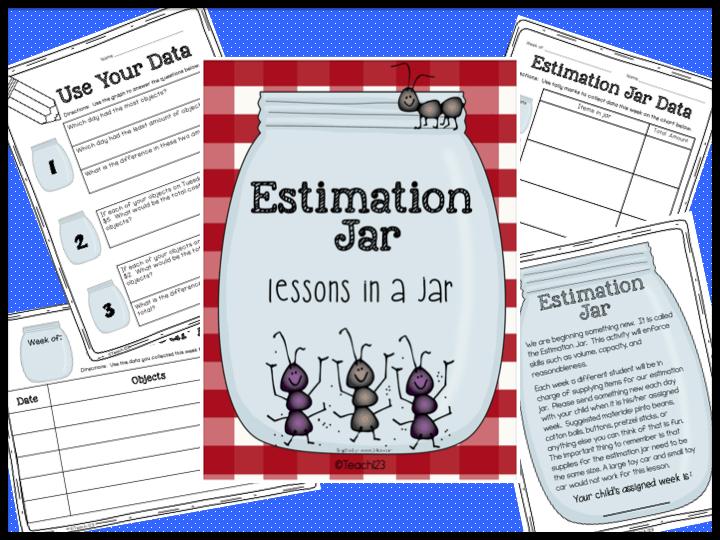Estimation jar Freebie