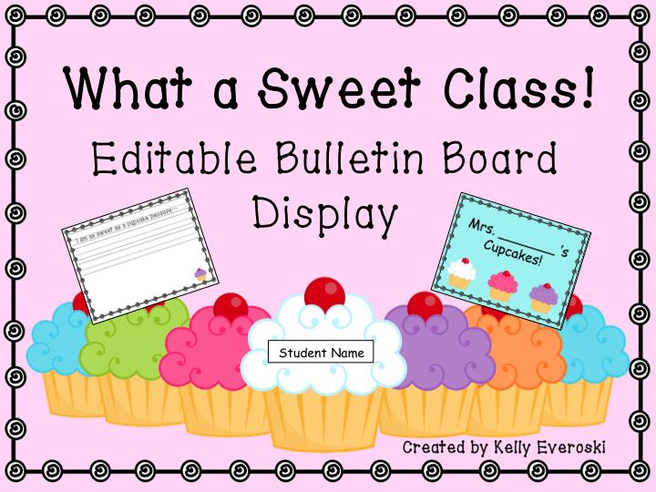 Sweet Class Bulletin Board