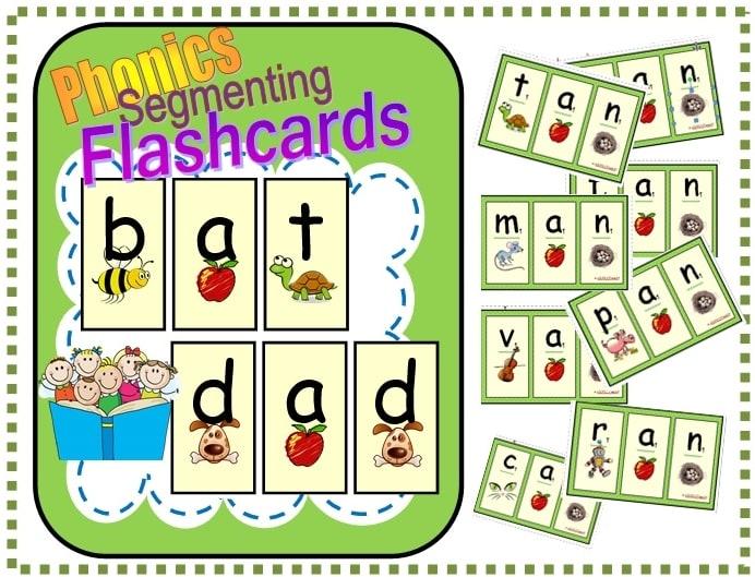 Segmenting Flashcards Freebie
