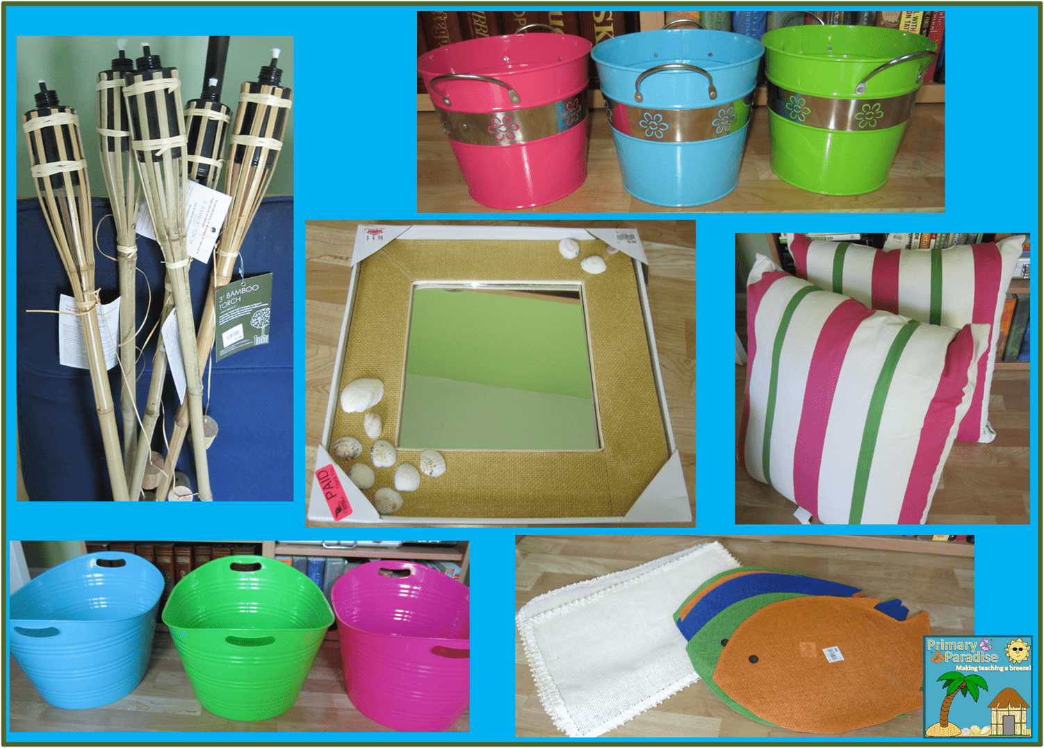 Classroom Beach Decor ~ New room theme and some great buys