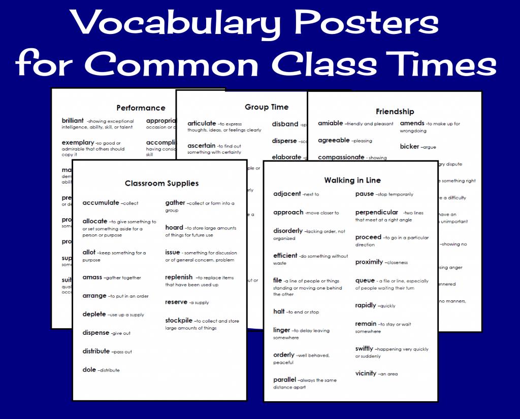 Vocabulary-Posters-FREEBIE