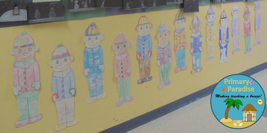Vowel Craftivity Hallway