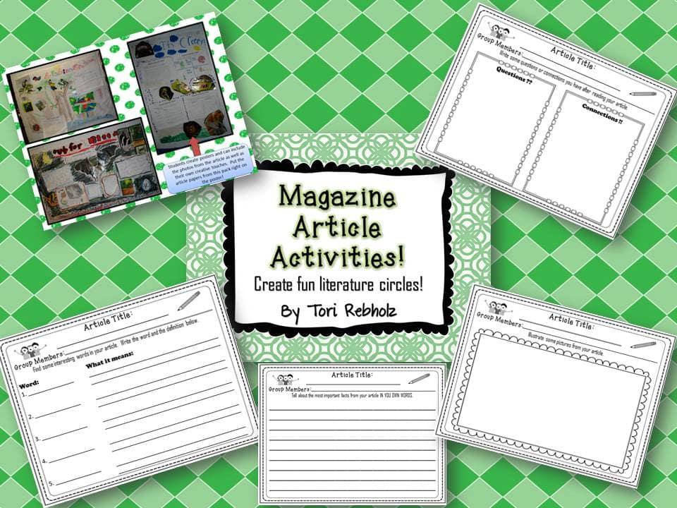 Magazine Activities
