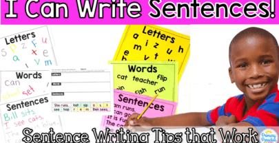 Sentence Basics: How To Teach Sentence Writing to Beginners
