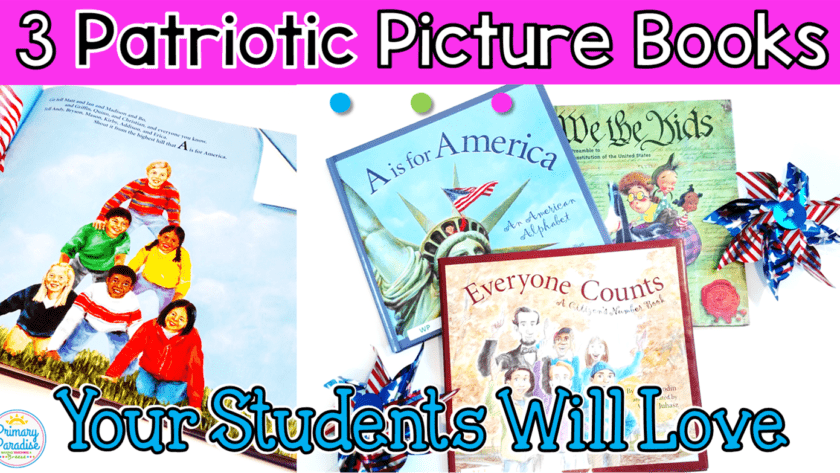 Patriotic Picture Books Your Elementary Students will Love