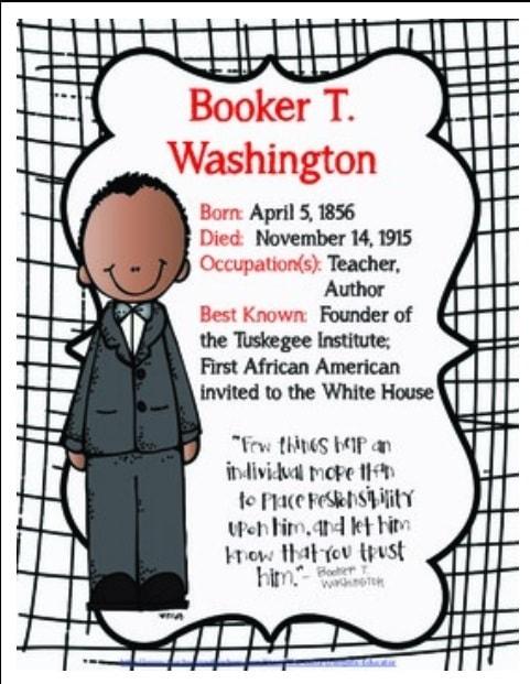 Booker T Washington FREEBIE