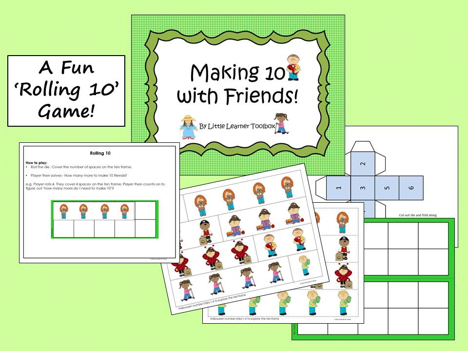 making-10-with-friends-FREEBIE