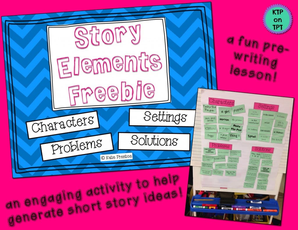 Story Elements Anchor Chart Freebie